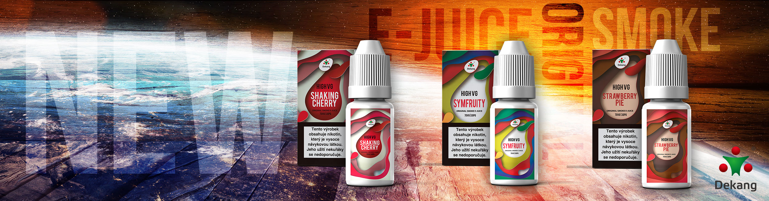 Liquidy Dekang High VG new flavors